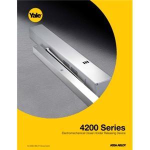4200 Series Electromechanical Closer-Holder Releasing Device-4200 Series Electromechanical Closer-Holder