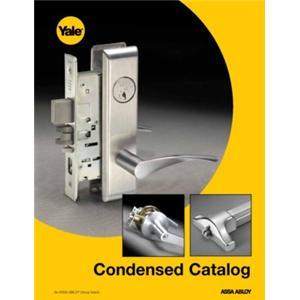 Yale Locks & Hardware - Condensed Catalog-Yale Locks and Hardware