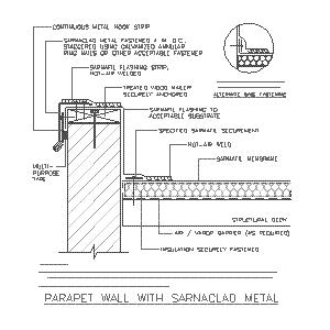 CAD details from Sika Corporation - Roofing – Sweets