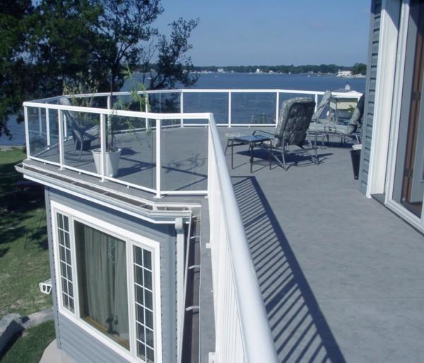 Deck Membrane Systems : Duradek walkable sundeck and roofdeck membrane