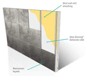 how to use acoustic sealant on vapor barrier