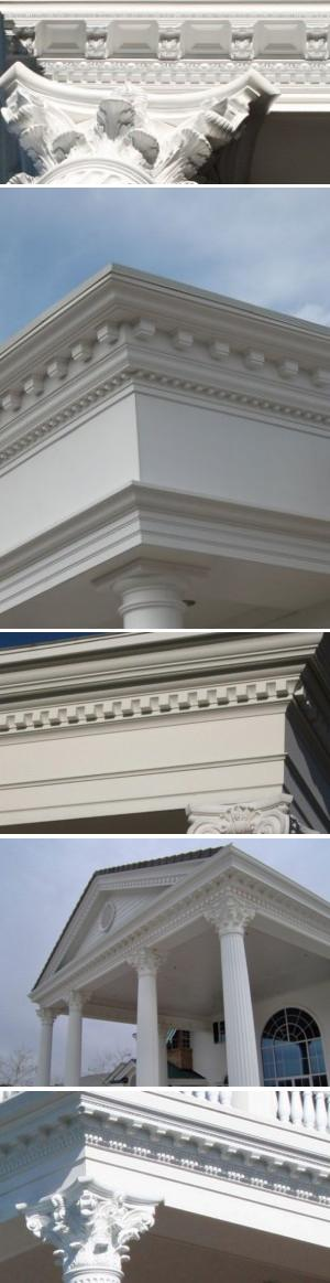 Architectural Cornices Mouldings : Architectural columns balustrades by melton classics