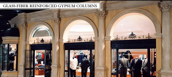 Glass Reinforced Gypsum Product : Plastercast™ grg glass fiber reinforced gypsum columns