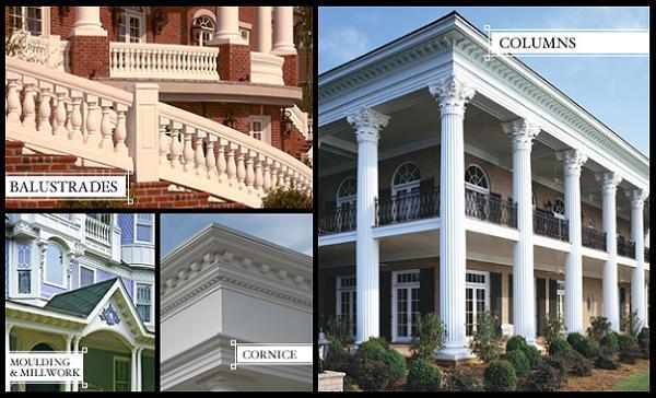 architectural columns balustrades by melton classics. Black Bedroom Furniture Sets. Home Design Ideas