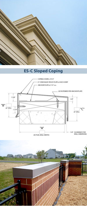 Performaedge Metal Fascia And Coping Systems Innovative
