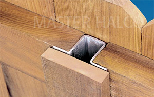 Postmaster Steel Post For Wood Fences Master Halco Inc