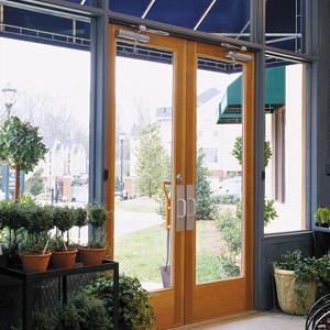 Architect Series Commercial Entrance Doors Wood And Aluminum Clad Wood Pella Corporation