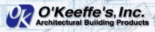 O'Keeffe's Inc. on Sweets - Logo