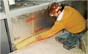 Thermafiber safing firestopping insulation for Mineral wool firestop