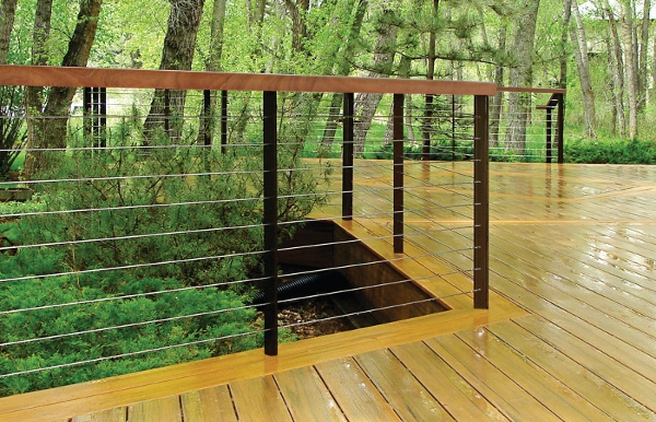 Raileasy Spectrum Stainless Steel Square Railing With