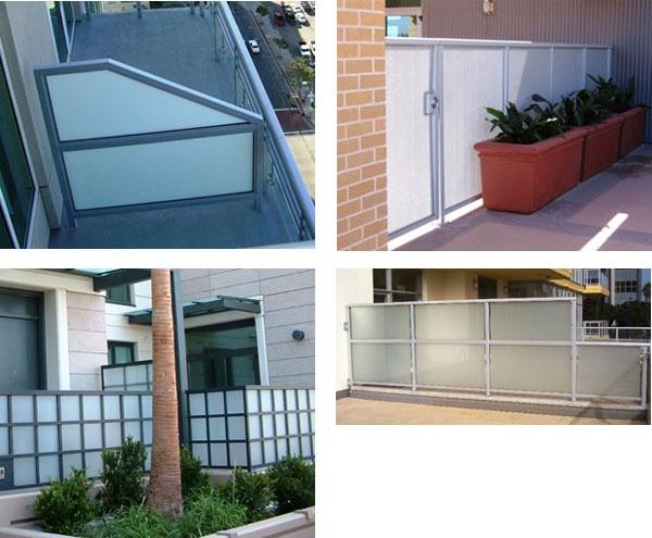 Exterior Privacy Screens Hansen Architectural Systems Inc Sweets
