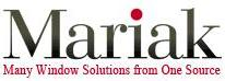Mariak Contract Window Treatments on Sweets - Logo