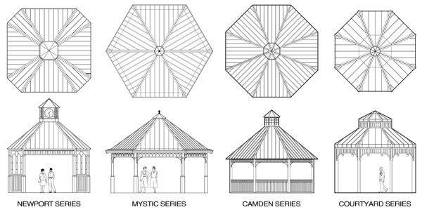 Gazebos - Icon Shelter Systems, Inc. - Sweets