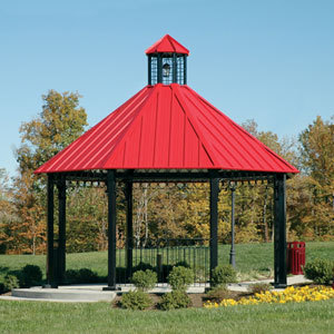 Gazebos icon shelter systems inc sweets Gazebo roof pitch