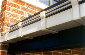Aluminum Gutters, Downspouts and Scuppers