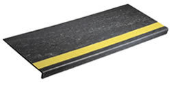 Smooth Surface Rubber Stair Treads R C Musson Rubber