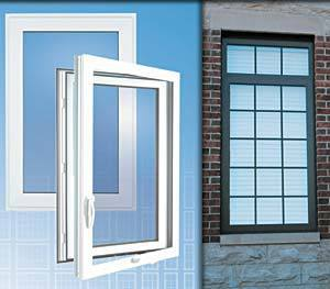Outswing Casement Aluminum Windows - Series 5300