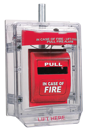 STI – Fire Pull Station Protective Covers