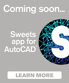 Sweets app for AutoCAD
