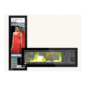 "MXD-1900L-PAN 19.4"" Modero X Series G4 Wall Mount Touch Panel"