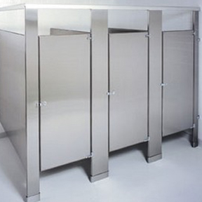 Stainless Steel Partitions - Accurate Partitions Corp.