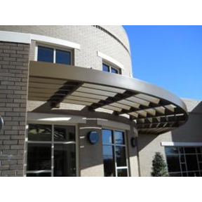 ASP Extruded Aluminum Sunshades-Architectural Shade Products