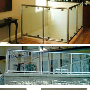 SunRail™ Glass-Atlantis Rail Systems