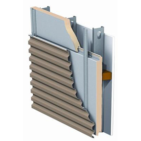 MetalWrap™ Series Insulated Composite Backup Panel System-CENTRIA
