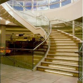 Curved and Spiral Stairs-Couturier Iron Craft, Inc