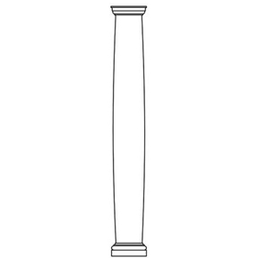 Round Fiberglass Columns - Crown Column & Millwork