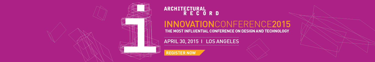 Architectural Record Innovation Conference 2015