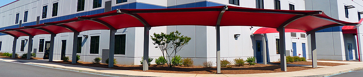 Fabric Shade Shelters - Poligon, a division of PorterCorp