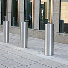 Shallow Mount Fixed / Retractable Bollards-Ameristar Security Products, Inc.