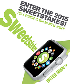 Sweetstakes - Entry form 2015