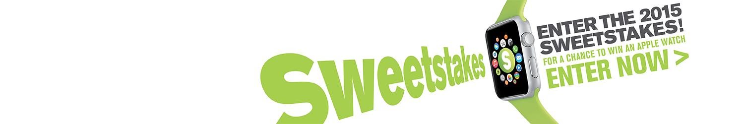 Sweetstakes Promotion banner -2015