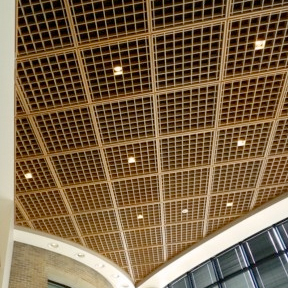 Woodcube™ Open Cell Acoustical Ceiling Louvers-Acoustical Surfaces, Inc.