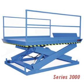 3000 Series Recessed Dock Lifts: 8-20K LBS CAP-Advance Lifts, Inc.
