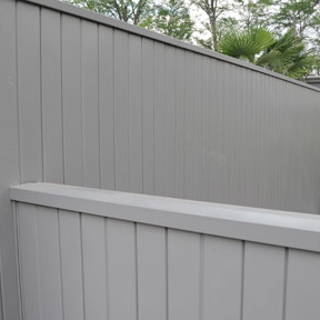 Berridge Architectural Privacy Fencing-Berridge Metal Roof and Wall Panels