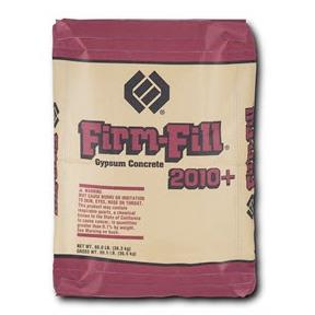 FIRM-FILL® 2010+ Gypsum Concrete Floor Underlayment