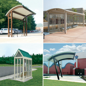 Urban Transit Shelters-Icon Shelter Systems, Inc.