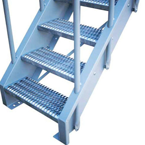 Model 01AA/02AA Bolted Industrial Metal Stairs-Lapeyre Stair, Inc.