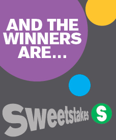 Sweets Sweetstakes Winners 2014