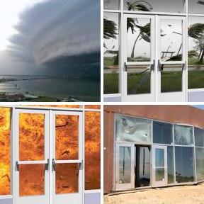 Hurricane, Impact, Blast Resistant Framing-Tubelite Inc.