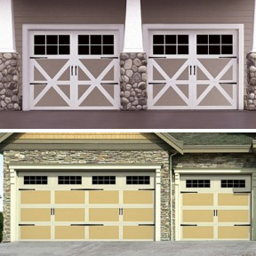 Carriage House Steel Garage Door Collection-Wayne-Dalton