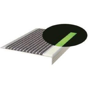 NITEGLOW® Anti-Slip Photoluminescent Stair Nosings and Treads