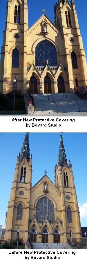 Protective Covering for Stained Glass Windows