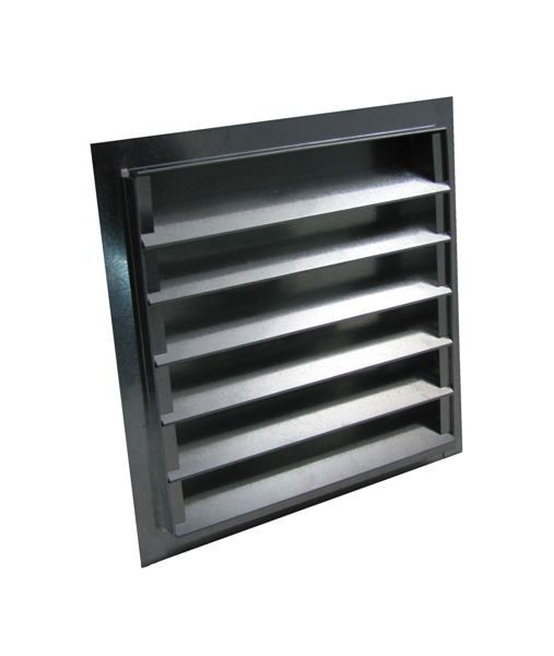Louvered Gable Vent Galvanized Famco Sweets