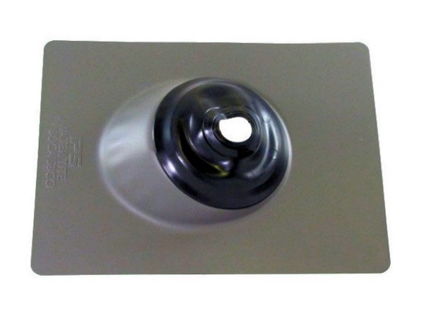 Pipe Flashing- Neoprene Collar - Adjutable 1 - 3 inch -Galvanized - GB3-1