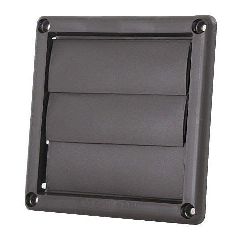 Plastic Wall Vent with Movable Louvers - LH