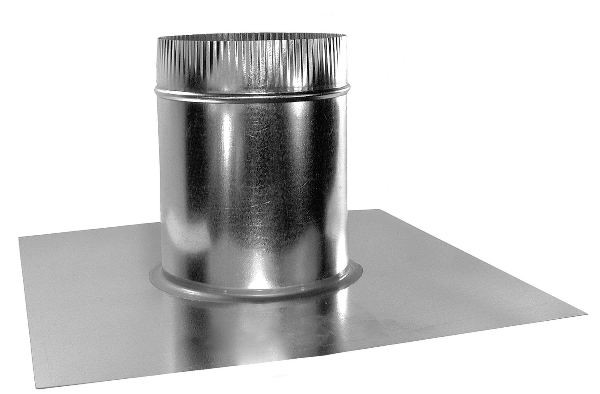 Round Vent Base – Flat Roof - FB